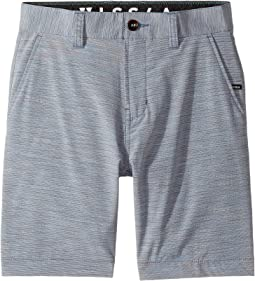 VISSLA Kids - Spaced Diver Four-Way Stretch Hybrid Walkshorts 17