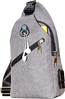 Sling Bag | Over Shoulder Backpack | Crossbody Purse | Waterproof | for Office Socializing Beach Gym Picnic Date | LIVE 2DAY