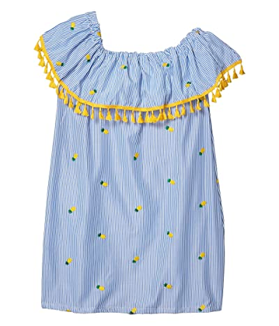 fiveloaves twofish Catalina Pineapple Dress (Little Kids/Big Kids) (Blue) Girl