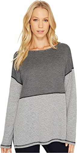 Reversible Stripe/Dot Long Sleeve Tee