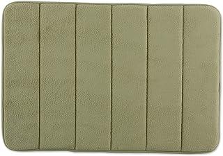 J&M Home Fashions J & M Home Fashions Classic Memory Foam Bath Mat, 17 by 24-Inch, Sage Green