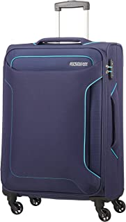 American Tourister Hand Luggage, Blue (Navy), Spinner M (67 cm-66 L)