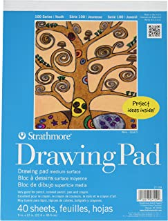 Strathmore (27-109) 100 Series Youth Drawing Pad, 9 by 12