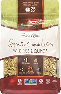 Floating Leaf, Lentils Sprouted Crimson, 14 Ounce