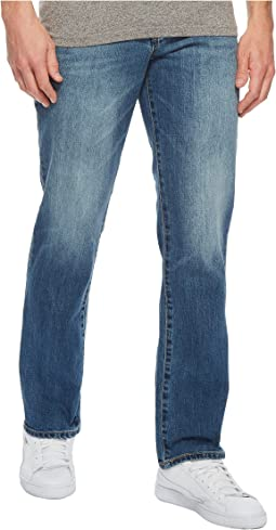 Liverpool - Relaxed Straight Stretch Denim Jeans in Bryson Vintage Medium
