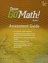 Houghton Mifflin Harcourt Go Math!: Assessment Guide Grade 5