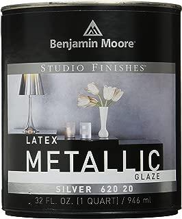 Benjamin Moore Qt Silver Metalic Latex Glaze