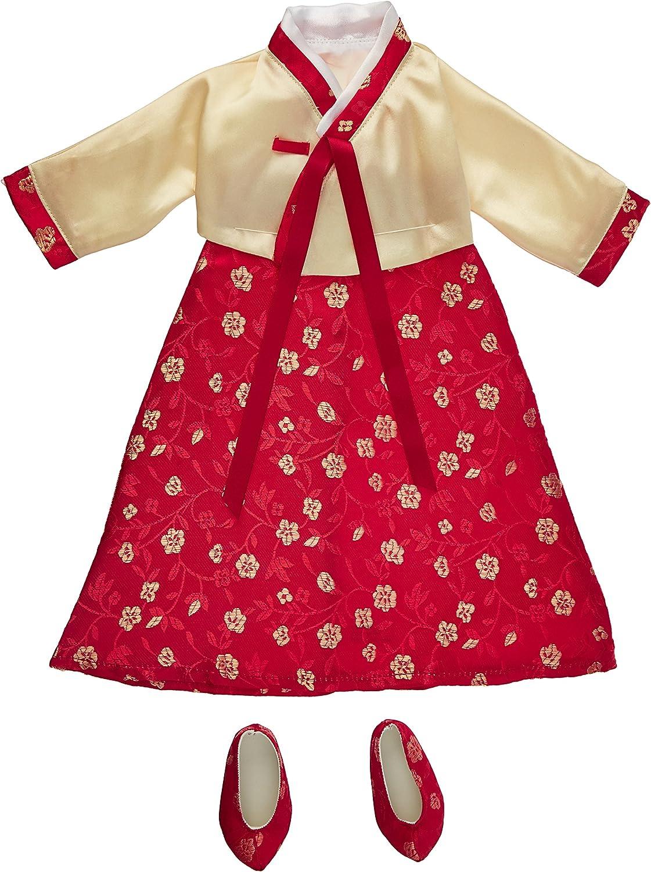 70% de descuento Korean Hanbok Dress & zapatos - Fits 18 American Girl Girl Girl Dolls by Cochepatina Dolls  mejor oferta