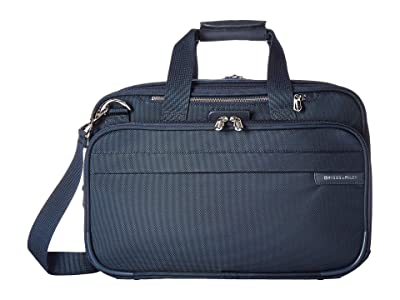 Briggs & Riley Baseline Expandable Cabin Bag (Navy) Tote Handbags