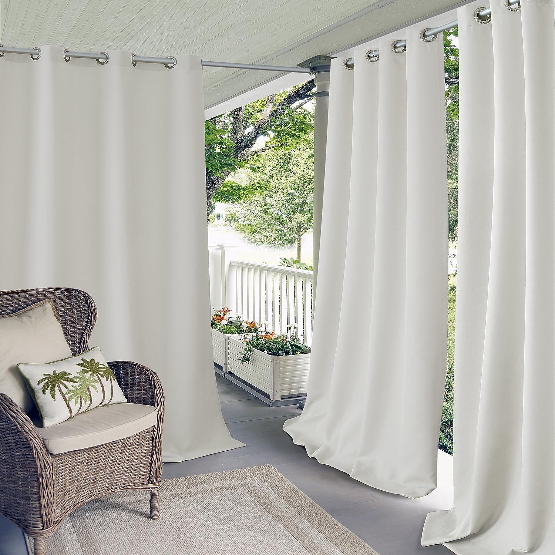 セール Elrene Home Fashions ギフ_包装 Connor Indoor Outdoor G Protectant UV Solid