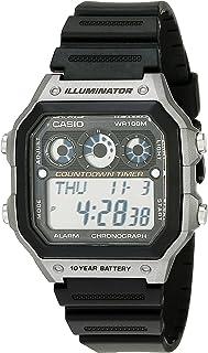 Casio Men's AE-1300WH-8AVCF Illuminator Digital Display...