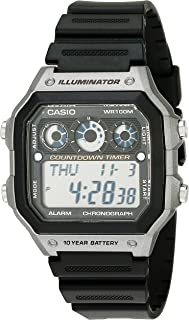 Casio Men's AE-1300WH-8AVCF Illuminator Digital Display...