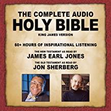 The Complete Audio Holy Bible – KJV: The New Testament as Read by James Earl Jones;..