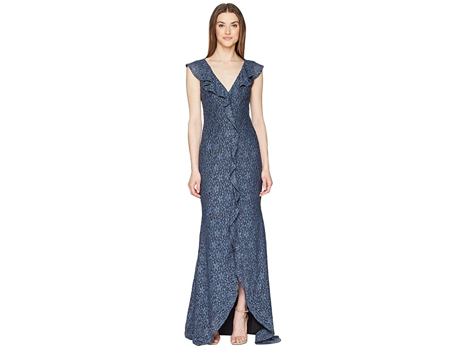 ZAC Zac Posen Kyra Gown (Flint) Women