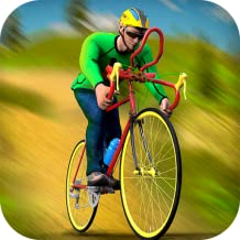 Offroad BMX Cycle Rider