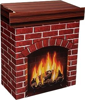 Beistle S18532V Fire Place 3-D Prop, 30