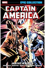 Captain America Epic Collection: Justice Is Served (Captain America (1968-1996) Book 13) Kindle Edition
