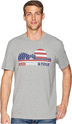 Red White & True Crusher Tee
