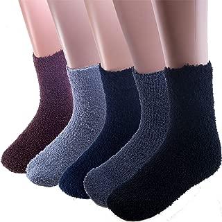 Warm Fuzzy Socks Ultra Soft Mens 6-pack Assorted By DEBRA WEITZNER
