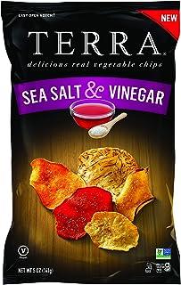 Terra Chips Salt & Vinegar, 5 Oz, Pack of 6