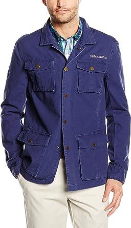 Valecuatro, H Escudo - Sahariana para hombre, color azul ...