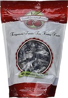 Eda's Sugar Free Hard Candy | Black Licorice | Kosher | Sorbitol, Low Sodium, No Aftertaste | (1LB)