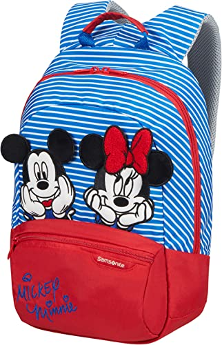 Samsonite Disney Ultimate 2.0 - Sac à Dos pour Enfant, 35 cm, 11 L, Multicolore (Minnie/Mickey Stripes)