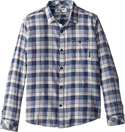 Billabong Kids - Freemont Flannel Woven Top (Big Kids)