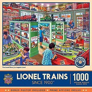 MasterPieces Lionel 1000 Puzzles Collection - The Lionel Store 1000 Piece Jigsaw Puzzle