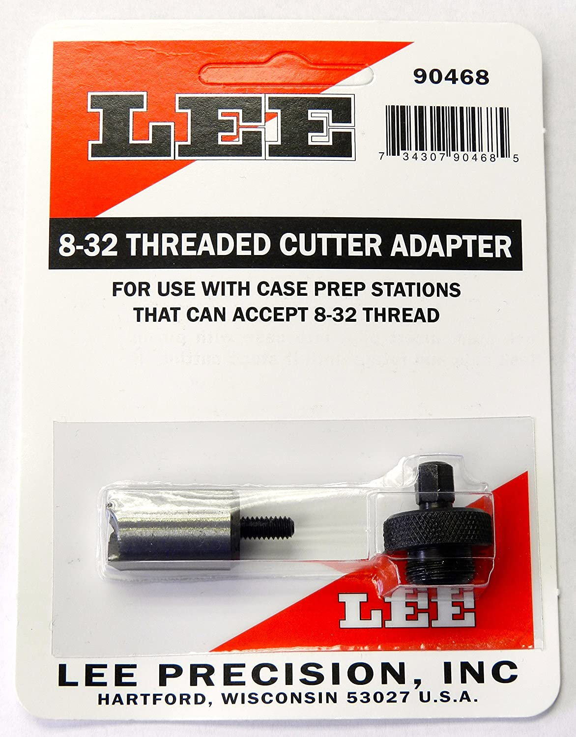 Lee Precision Reloading Time sale Large 8-32 Cutter Low price Lock Stud L Threaded