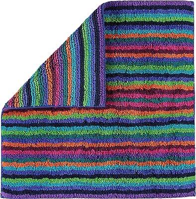 Cawö Tapis de bain, Coton, mehrfarbig, Badteppich 60x60 cm