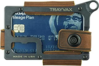 Contour Minimalist Wallet Tactical Armor Steel Front Pocket RFID