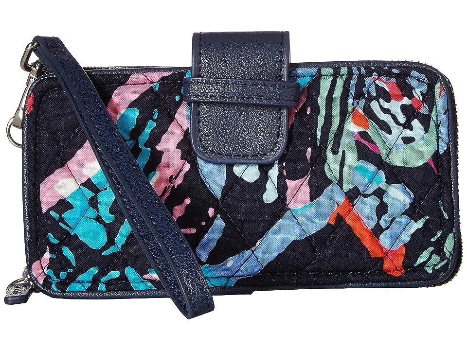 Vera Bradley RFID Smartphone Wristlet (Butterfly Flutter) Wristlet Handbags