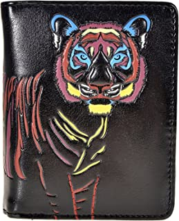 Shag Wear Women's Small Vegan Faux Leather Wallet With Inside Zipper Pocket