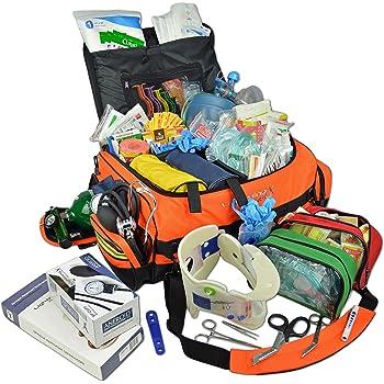Lightning X Jumbo Medic First Responder EMT Trauma Bag Stocked First Aid Advanced Fill Kit D