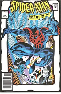 Spider-Man 2099 #1 Rare White Cover Variant NM (1)