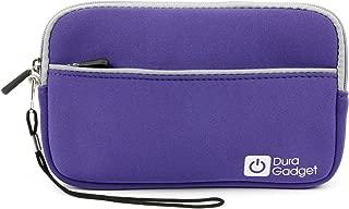DURAGADGET Purple Water & Scratch Resistant Neoprene Zip Case - Suitable for Hieha 7