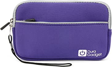 DURAGADGET Purple Water Resistant Sleeve - Compatible with Maxtor D3 Station External Hard Drive 2TB STSHX-D201TDBM   3TB STSHX-D301TDBM   4TB STSHX-D401TDBM   5TB STSHX-D501TDBM