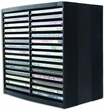 Fellowes 9823102 Rangement pour CD Noir