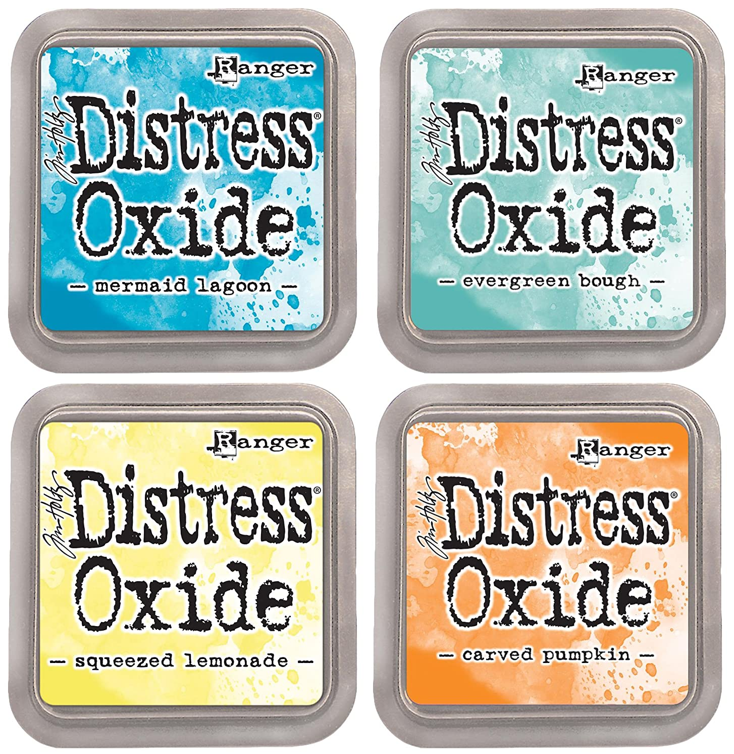Tim Holtz Ranger Distress Oxide Ink Bundle B - Four 3