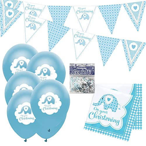 Baby Christening Decorations Amazon Co Uk