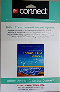 Package: Fundamentals of Thermal-Fluid Sciences with 1 Semester Connect Access Card