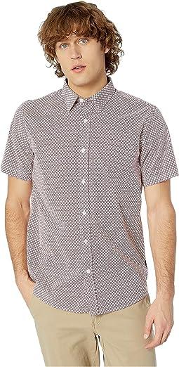 Short Sleeve Geo Floral Print Shirt
