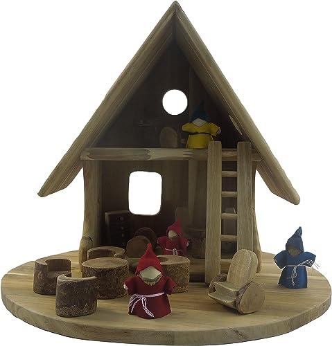 Lichee Toys 105006 Elfe Maison, Maison de poupée pour Enfants