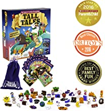 Tall Tales Story Telling Board Game - The Educational Family Game of Infinite Storytelling - 5 Ways to Play - Promotes Creativity and Language Skills