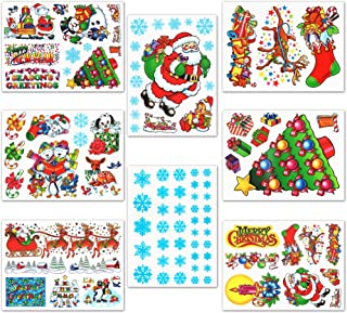 Christmas Window Clings Decals