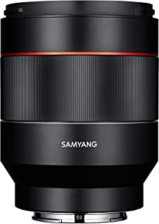 Samyang SYIO50AF-E 50mm F1.4 Full Frame Auto Focus Lens for Sony E-Mount, Black