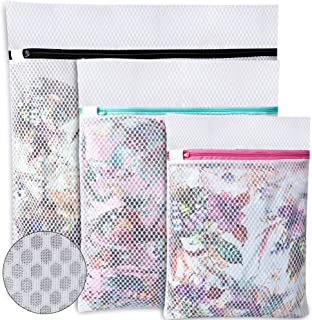 UMI. by Amazon - Sac à linge en nid d'abeille pour ranger ou laver le chemisier délicat, bonneterie, sous-vêtements et sou...