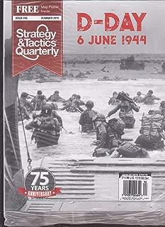 Strategy & Tactics Quarterly Magazine D Day 75 Year Anniversary 2019