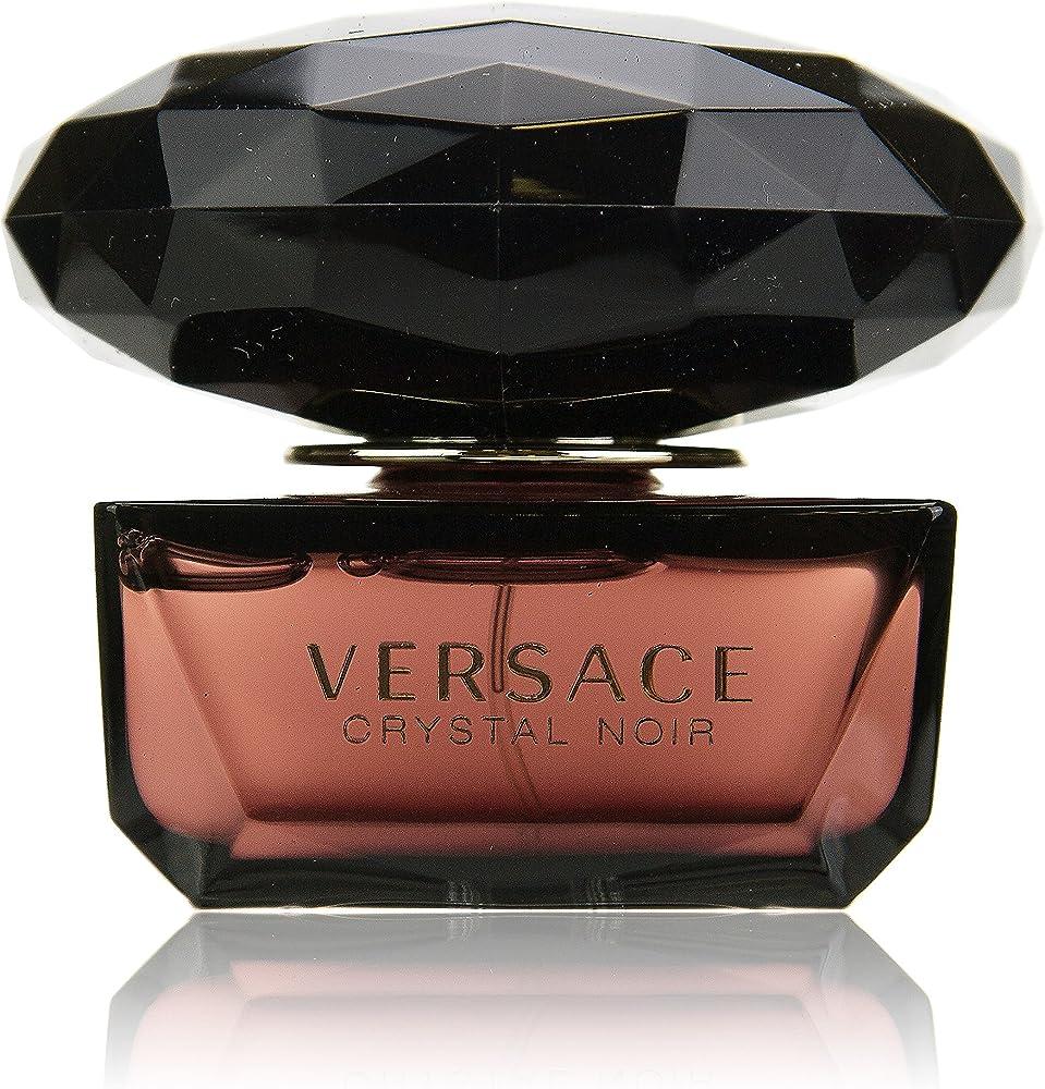 versace crystal noir eau de parfum per donna 50 ml 419625